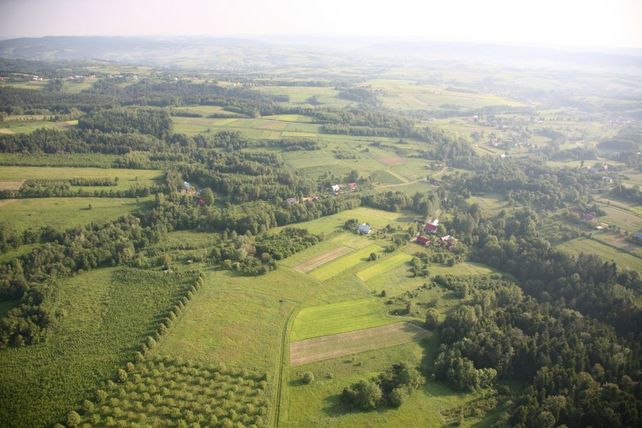 Zdjęcie 2 Widok gminy z lotu ptaka
