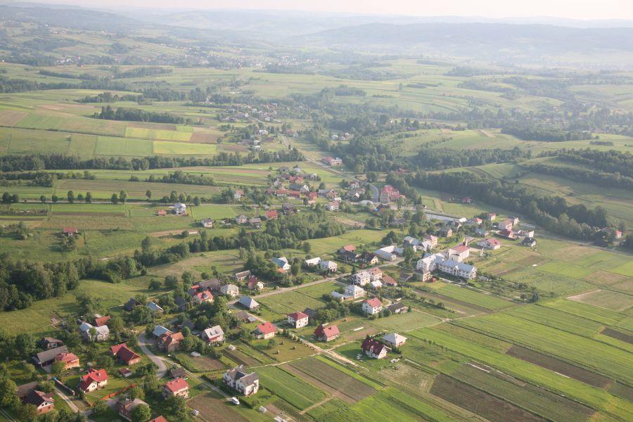 Zdjęcie 3 Widok gminy z lotu ptaka