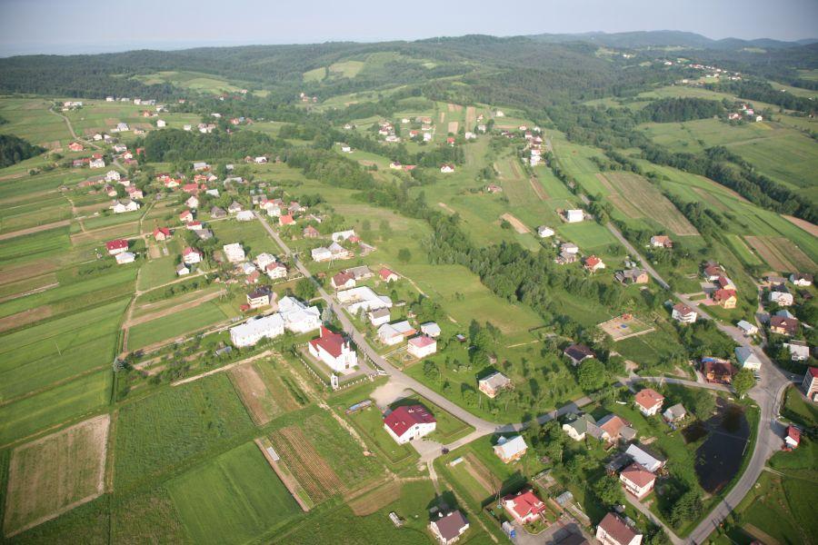 Zdjęcie 4 Widok gminy z lotu ptaka