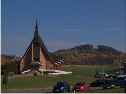 Zdjęcie kościół w Bliznem
