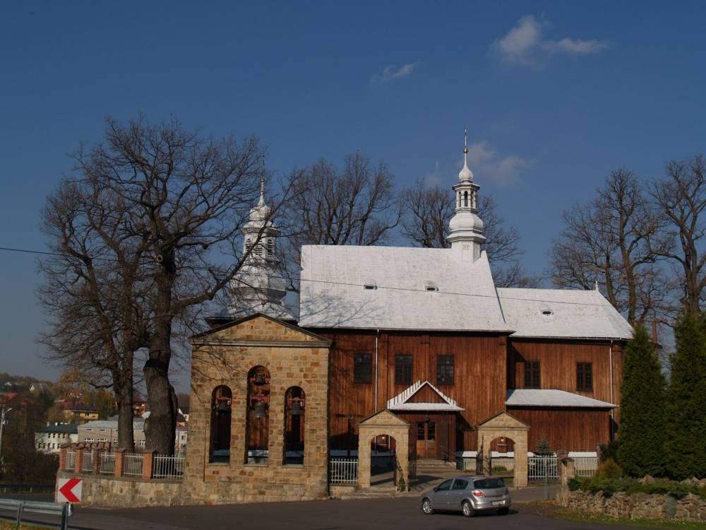 Zdjęcie kościoła parafialnego w Jasienicy Rosielnej