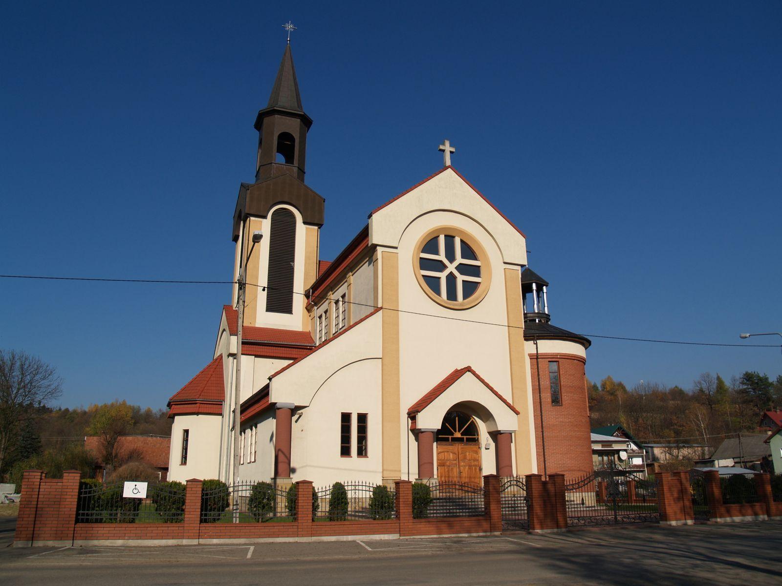 Zdjęcie nowego kościola w Woli Jasienickiej