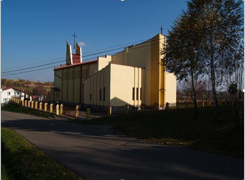 Zdjęcie kościół w Orzechówce